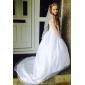 Бальное платье из органзы, для девочек