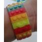 Women's Watch Sports Digital Colorful Block Brick Style