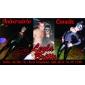 Masque Carnaval de partie de mascarade de Venise Reine Glitter Blue Women