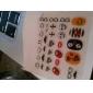 3ST Mixed-Pattern Tecknad Nail Art Stickers OC Sery No.7