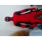 Collants Ninja Costume Zentai Costumes de Cosplay Rouge Mosaïque Collant/Combinaison Costume Zentai Elasthanne UnisexeHalloween Noël Fête