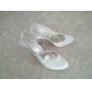 Satin Upper Stiletto Heel Pumps With Ruched Wedding Shoes More Colors Available