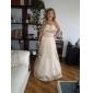 LIZ - Bruidsmeisjesjurk van Satijn