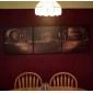 Stretchad Kanvastryck Kanvas set StillebenTre paneler Horisontell Målning väggdekor For Hem-dekoration