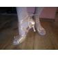 satin glezna curea latină / pantofi de bal personalizate spectacol de dans (mai multe culori)