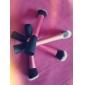 5 ensembles de brosses / Pinceau à Blush / Pinceau Correcteur / Pinceau Poudre / Pinceau Fond de Teint / Contour Brush Poil Synthétique