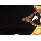 Blusa de Mulher em Chifon com Decote em Contas
