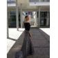 GERALDINA - kjole til kveld i Satin og paljett