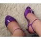 Chaussures de mariage - Noir / Bleu / Violet / Rouge / Ivoire / Blanc - Mariage - Talons - Sandales - Homme