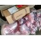 lolita lockig peruk inspirerad av rosa och blått blandad färg hästsvans 70cm söt