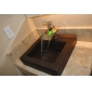 Sprinkle® by Lightinthebox - Color Changing LED Waterfall Bathroom Sink Faucet