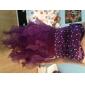 A-line printesa drăguț asimetric organza stretch satin rochie de casă de vacanță cu beading de ts couture®