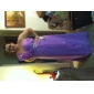 Teacă / coloană un umăr podea lungime șifon rochie de bal cu cristal de ts couture®