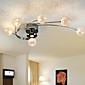 luce di soffitto moderne lampadine viventi inclusi 6 luci