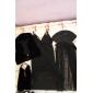 Sexy da Mulher Negra Noite Vampiro trajes de Halloween