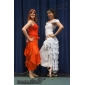 Dancewear Chiffon with Tassels Belly Dance Skirt For Ladies