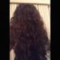 Spanska Curly Ny Fashion Style Lace Peruker 100% äkta hår indiska Remy Peruker