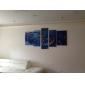 toile set Abstrait Classique Moderne,Cinq Panneaux Horizontale Imprimer Art Décoration murale For Décoration d'intérieur