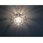 Montage du flux ,  Contemporain Chrome Fonctionnalité for Cristal Style mini MétalSalle de séjour Chambre à coucher Salle à manger