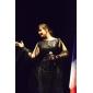 Vestido para Noite Brilhante Inspirado no Modelo de Evan Rachel Wood no Emmy