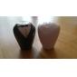 la sposa e lo sposo in ceramica sale e pepe matrimonio agitatori favore (set di 2)