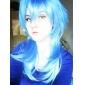 peruca cosplay inspirado dramático assassinato aoba segaraki degradê azul