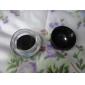 Waterproof Black Natural EyeLiner with Brush Set