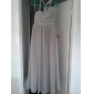Robe de Demoiselle d'Honneur Junior - Pêche Fourreau Dos nu Longueur ras du sol Mousseline polyester