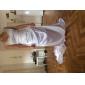 Robe de Mariée en Charmeuse, Coupe en Fourreau, Traîne de Tribunal