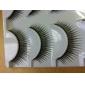 5 paires de cils cils noirs fibre Faux (5-021)