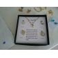 Set bijuterii Pentru femei Aniversare / Zi de Naștere / Cadou / Petrecere / Zilnic / Ocazie specială Set Bijuterii AliajImitație de Perle