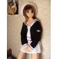 cosplay dräkt inspirerad av Cardcaptor Sakura tomoeda grundskolan vinter flickskola enhetlig ver.