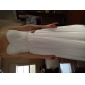 Sheath/Column Plus Sizes Wedding Dress - White Floor-length Sweetheart Chiffon