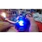 genie Lampe gestaltet 2-LED RGB blinkt Butanfeuerzeug