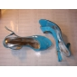 Transparent Patent Leather Low Heel Sandals Party / Evening Shoes(More Colors)