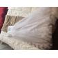 Coloană / Teacă Fără Bretele Lungime Podea Tulle Bal Seară Formală Rochie cu Cruce Ruching de TS Couture®