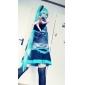 Inspiré par Vocaloid Hatsune Miku Vidéo Jeu Costumes de Cosplay Costumes Cosplay Robes Sans ManchesChemisier Jupe Cravate Manche Ceinture