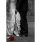 Chaussures de mariage - Blanc / Ivoire - Mariage / Soirée & Evénement - Bout Ouvert / Talons - Talons - Homme