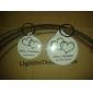 personlig spegel nyckelring - telesthesia (sats om 12)
