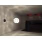moderne minimalistisk en lys anheng med krystall skygge i globular