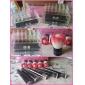 Rangement pour Maquillage Boîte de maquillage Rangement pour Maquillage Plastique Acrylique Couleur Pleine Carré 18.5 x 11.5 x 11.6