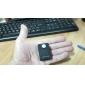 PIR sans fil Détecteur de mouvement Détecteur d'alarme GSM système d'alerte Monitor (Noir)