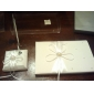 """Eternity"" Wedding Guest Book and Pen Set"