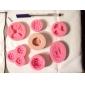 Fleurs un moule en silicone trou pivoine Fondant Moules sucre Craft Outils de résine moules moules pour gâteaux