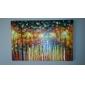 Pictat manual Peisaj Orizontal,Modern Tradițional Un Panou Hang-pictate pictură în ulei For Pagina de decorare