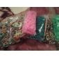 diy twistz silikon Bandz gummiband armband regnbågens färger vävstol stil för barn med 600pcs band och 24 s-klipp