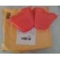 hippo forme de gant gant isolant en silicone (couleur aléatoire)
