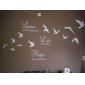 păsări care zboară arta de perete autocolante de perete