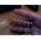 Stainless Steel deget inel stil bere Sticla De Vin Opener (20mm diametru) - argint