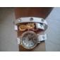 vågar u kvinnor vintage läderarmband kristall strass klockor